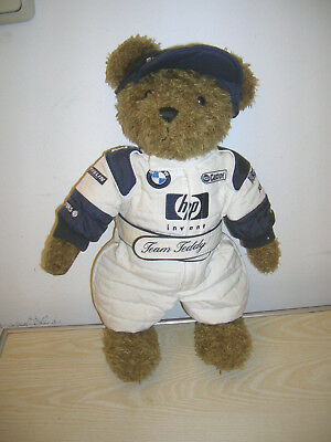 Original BMW Williams F1 Team Teddy Bär hp Castrol Michelin - PROMO von 2002