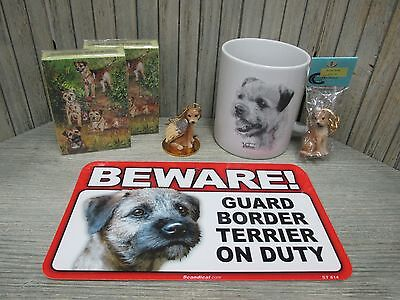Border Terrier - Playing Cards, Angel Dog Ornament, Key Chain, Mug, Signs