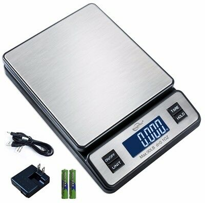 Weighmax Series2809 90 LB x 0.1 OZ Digital Shipping Postal Scale W/AC STL
