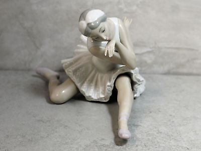 Lladro # 4855 Death of the Swan; 1984; Damaged, as is