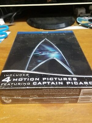 Star Trek: The Next Generation - Motion Picture Collection Blu-ray 5 Disc, 2009