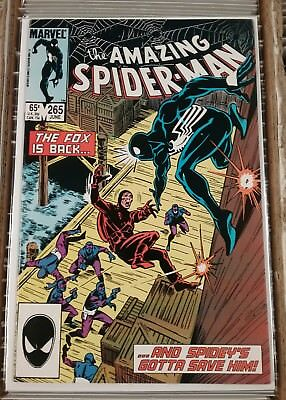 Marvel Amazing Spider-Man 265 1st App. Silver Sable 1985 FN-VF