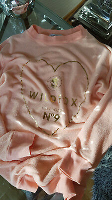 Wildfox GOLDEN POTION Kids- Strickpullover - sherbert Gr. 12 / Gr. 34 VKP 119,95