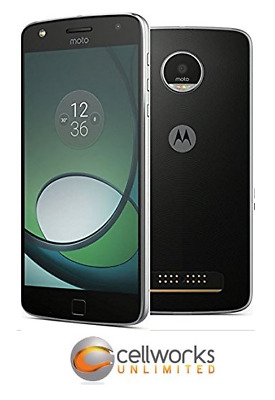 Motorola Moto Z Droid ( Verizon ) - XT1650 - 32GB - Lunar Gray - CLEAN IMEI