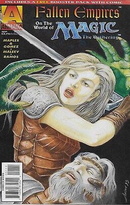 Fallen Empires on the World of Magic: The Gathering No.1-2 / 1995 Alex Maleev