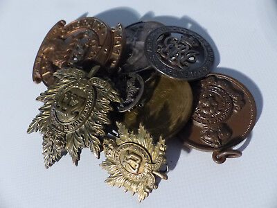 1914-18 Wwi Canada Service Medals X 2 + Others 6
