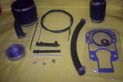 Mercruiser Gimbal Alpha Gen 1 Bellows Transom Repair Kit W Shift Cable Gimble