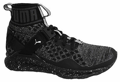 Puma Ignite evoKNIT Metal Lace Up Womens Mid Shoes Trainers 189896 01 U32 edb297d9f