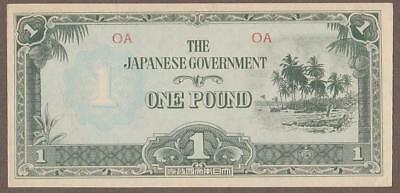 1942 Oceania 1 Pound Note Unc