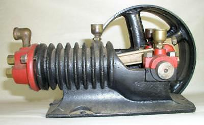 Small Hit & Miss Engine Homemade? Body Marked Brunner Utica N.Y.