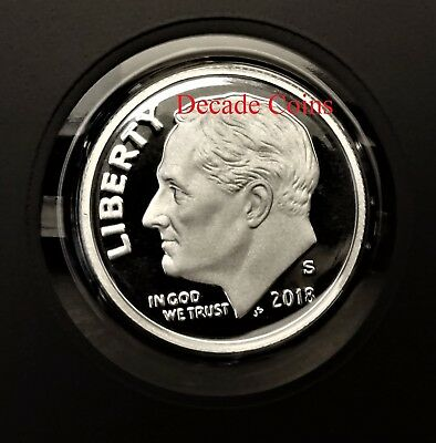 2018-S Silver Proof Roosevelt Dime Limited NGC PF69 UC ER Trolley SKU56446