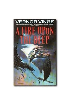 A Fire Upon the Deep by Vinge, Vernor Paperback Book The Cheap Fast Free Post