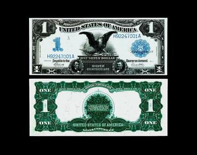$1 1899 Silver Certificate ~ ALMOST UNCIRCULATED