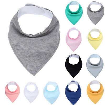 Infant Baby Kids Cotton Feeding Saliva Towel Dribble Triangle Bandana Bib Eyeful