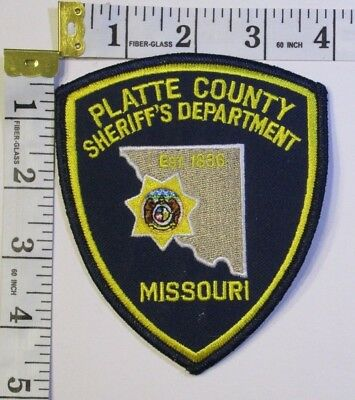 Platte County Missouri Sheriffs Department Shoulder Patch