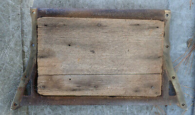 Theo A Kochs? Koken? Vintage Barber Chair FOOT REST 527N & 563