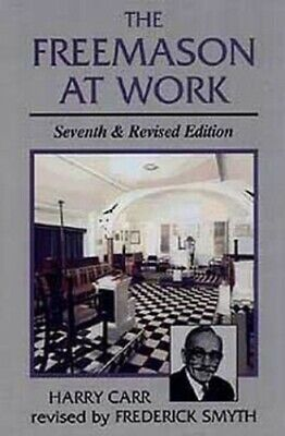 The Freemason at Work by Carr, Harry Paperback Book The Cheap Fast Free Post