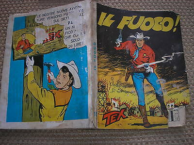 Tex #16 The Fuoco Aut.478 Stapled Running Titles Undated
