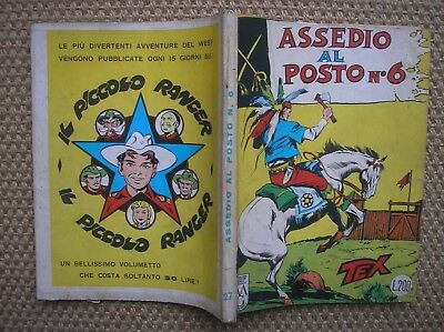 TEX 27 SIEGE FROM POST # 6 the first EDITION 1962 AUT.5926 EXCELLENT