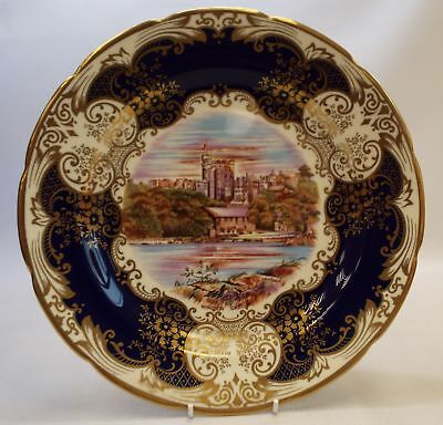CROWN STAFFORDSHIRE JA BAILEY Fine Bone China Windsor Castle Plate 1978 -Z8A N29