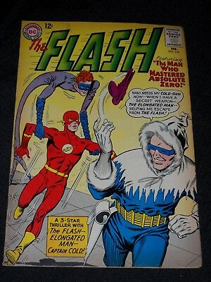 DC Comics Silver Age THE FLASH VOLUME 1 ISSUE 134 FEBRUARY 1963