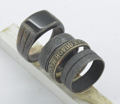 Post medieval period Rings lot. 18 Century 20gr.