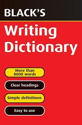 Black's Writing Dictionary (Paperback), Hulme, T.J., Carmody, T.F...