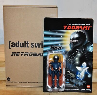 Adult Swim Retroband T.O.M Figure Toonami