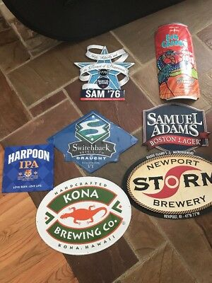 7 New Beer Signs Tins Craft Brew