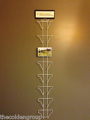 8 Pocket 5 X 7 Greeting Card Wall Display Rack