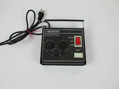 Beseler Audible Repeating Darkroom Enlarging Timer Model 8177 WORKS GREAT USA