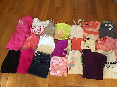 NWTS/EUC Girls Spring/Summer lot of 19 clothes Size 8 Gymboree, Gap Kids