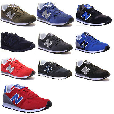 New Balance 373 Unisex Suede Modern Athletic Low Cut Trainers Size UK 3 - 12