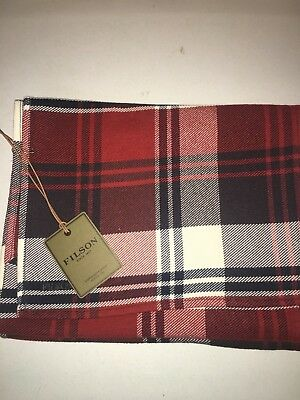 New With Tags Filson Pure Cotton Scarf