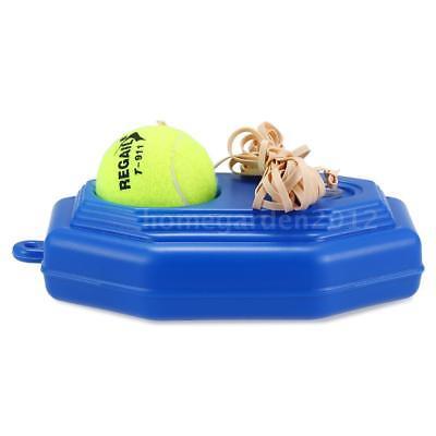 Become A PRO Tennis Training Tool Exercise Rebound Ball Baseboard Sparring O9J3