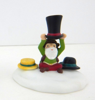 Dept 56 North Pole Woods - Tailored For You 56921 Single Elf Figure W/ Hats New