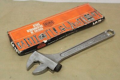 """New Irimo LL-3/4"""" 12"""" Adjustable Spanner Made In Spain"""