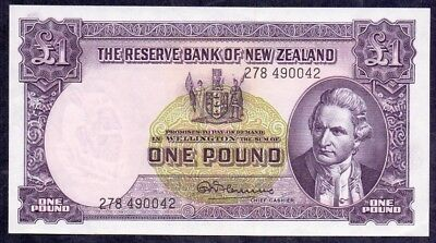 1 Pound From New Zealand Unc  B3