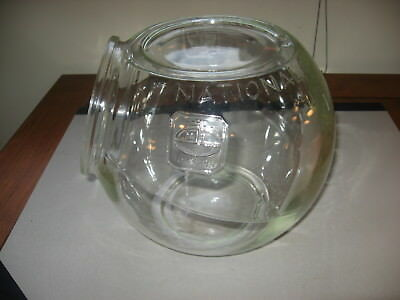 National Biscuit Company Uneeda Bakers Large Glass Sales Counter Stacking Jar