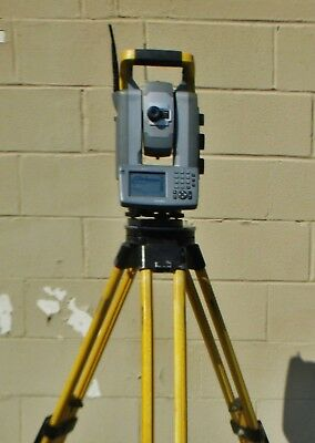 "Trimble S6 3"" DR300+ Survey Total Station Very Good Working Condition & Tripod"