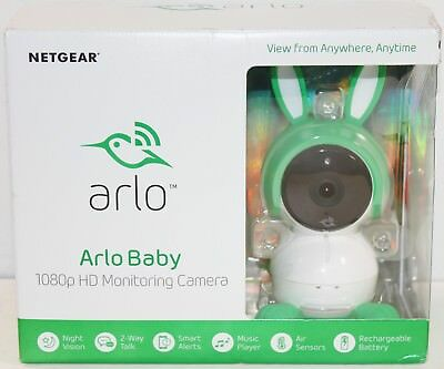 Arlo Baby by NETGEAR Smart HD Baby Monitor and Camera Two-way Audio Night Vision