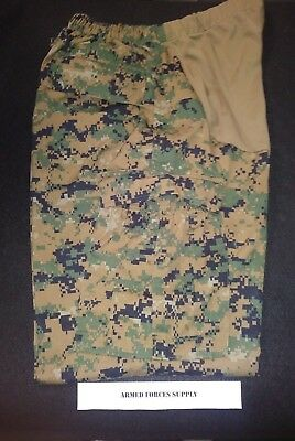 Maternity Usmc Woodland Marpat Muccuu Pants Trousers Small Short Cammie