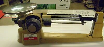 Ohaus Dial-O-Gram Stainless Steel Deck Mech Triple Beam Balance 2610g Scale
