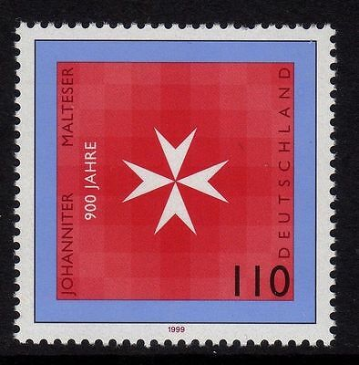Germany 1999 The 900th Anniversary of the Order of Malta SG 2902 MNH