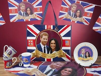 Union Jack Prince Harry Meghan Royal Wedding 2018 Party Decorations Celebrations