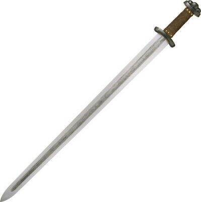 "CAS Hanwei Godfred Viking Sword SH1010 34 3/4"" overall. 28 3/4"" beautifully patt"