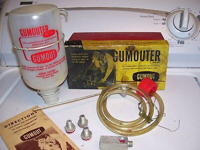 Original vintage nos Carburetor GUMOUT automobile parts gm old school bomba