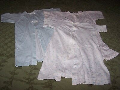 Lot of 3 Vintage Carters Baby Night Gown ~ 6 months