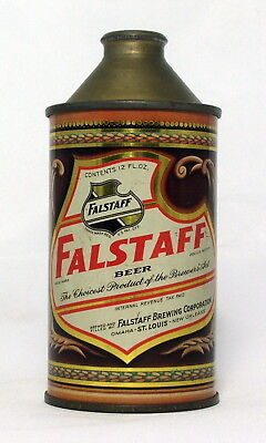 Falstaff 12 oz. Cone Top Beer Can-St. Louis, Missouri