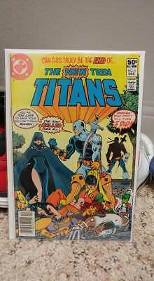 Teen Titans 2 (First Appearance of death stroke) Nice copy!!! Movie coming!